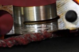 oil starved camshaft bearing cap