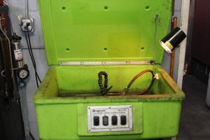 Snap On aqueous parts washer
